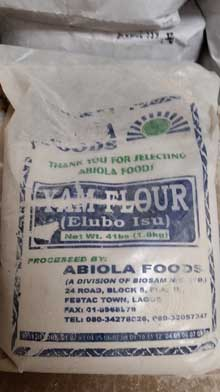 Yam Flour (Elubo Isu) Shop Charlotte Market International today - Charlotte's best African grocer. West Africa and Caribbean specialty products - OPEN DAILY! Char, NC