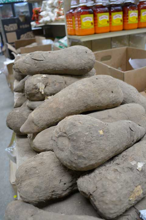 Fresh African Yams! New shipments arriving weekly. Shop Charlotte Market International today - Charlotte's best African grocer. West Africa and Caribbean specialty products - OPEN DAILY! Char, NC